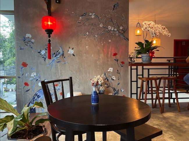 カフェの内装2